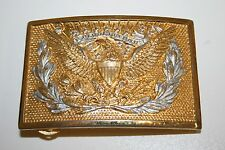 Vintage E Pluribus Unum United States of America USA Motto Eagle Belt Buckle
