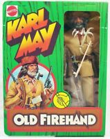 BIG JIM ☆ KARL MAY OLD FIREHAND ☆ GRIP HAND '76 #9497 REPROBOX ► NEW ◄ COMPLETO