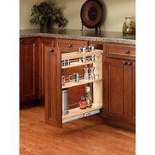 Pull Out Narrow Cabinet Organizer Sliding Pantry Rack Shelf Kitchen Door-Mount