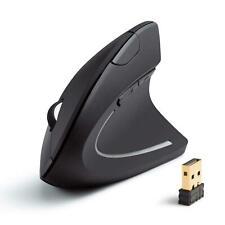 Anker 2.4G Wireless Vertical Ergonomic Optical Mouse, 800 / 1200 /1600DPI, 5 But