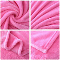 Cozy Sofa Flannel Home Throw Blanket Ultra Soft Plush Fabric for Twin /Queen Bed