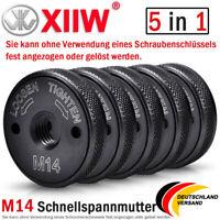 5x Schnellspannmutter Winkelschleifer M14 Spannmutter Schleifer für Bosch Metabo