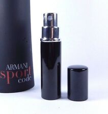 Giorgio Armani Code Sport Eau de Toilette 6ml Travel Spray Men's EDP 0.20oz