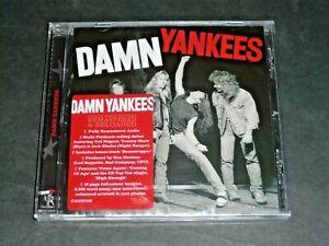 DAMN YANKEES CD S/T BONUS TRACK ROCK CANDY - NEW & SEALED