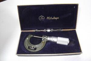 """MITUTOYA Micrometer 0""""-1"""" No. 103-127"""