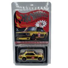 Hot Wheels Redlines 71 Datsun 510 Diecast - Gold