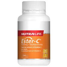 NUTRALIFE ESTER-C 1500MG + BIOFLAVONOIDS 60 TABLETS VITAMIN C NON-ACIDIC