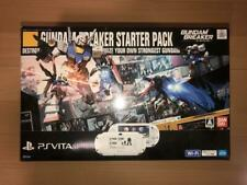 PlayStation Vita Gundam Breaker Starter Pack SONY PS  PCHL-60001 Wi-fi Bundle