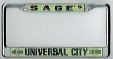 Universal City California Sage's Datsun Vintage JDM Dealer License Plate Frame