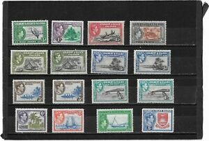 GILBERT & ELLICE ISLANDS 1939 PICTORIAL SET & SHADES SG.43-54 L/MOUNTED MINT
