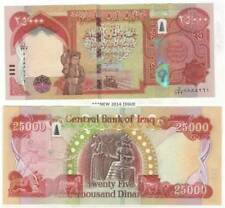 More details for 25000 new iraqi dinars 2014 (2013) with new security features - iraq dinar unc