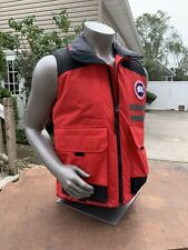 Brand New Canada Goose Red Duncan Vest Mens Size Medium