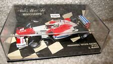 2002 1/43 Minichamps Pauls Model Art Alan McNish Panasonic Toyota Racing Tf102