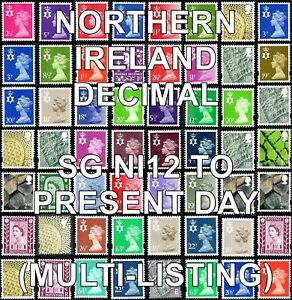 1971+ NORTHERN IRELAND Machin Definitives  (Multiple Listing) Unmounted Mint