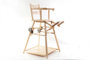 Old High Chair Children's Chair Wood Children Chair Game Table
