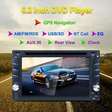 GPS Navigation Double Din InDash Car DVD Radio Stereo Player Bluetooth NEW