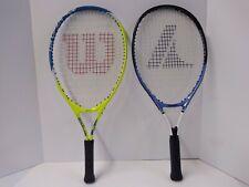 2 Tennis Rackets 23 Inch Wilson & Prokennex
