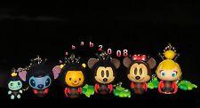 Yujin Disney Tinkerbell pooh Mickey stitch Minnie keychain figure gashapon