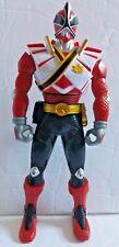 "Bandai Samurai Switch Armor Power Rangers Spin Red Ranger 7"" Action Figure"
