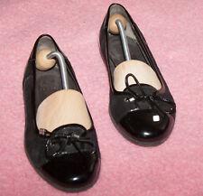 Jette JOOP  ♥  Ballerina  ♥ Loafer ♥ Schuhe ♥ Gr. 40 *TOP* Wildleder + Lack