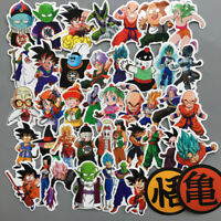 50Pcs Anime DragonBall Sticker Bomb Super Saiyan Goku Decals Pack For Skateboard