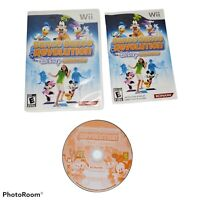 Dance Dance Revolution: Disney Grooves (Nintendo Wii, 2009) Complete With Manual