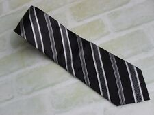 HARDY AMIES PURE SILK TIE- 9.5 CM WIDE- MADE IN ITALY - NEW NEVER USED