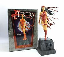 "Bowen 14"" ELEKTRA Marvel Daredevil Painted Statue Figure by Newman 2001 638/3000"