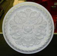 Rosone decoro soffitto polistirolo Bovelacci ER44 diametro 44 cm 4 pezzi