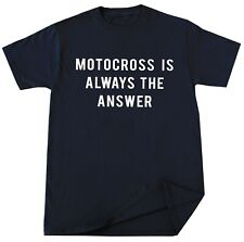 Funny Motocross T-shirt Moto Racer Dirt Bike Racing Extreme Sport Mountain Biker