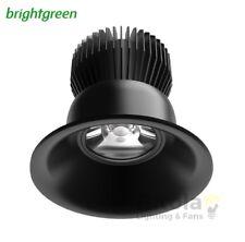 NEW BRIGHTGREEN D550+ CURVE 8.5w LED NICHE DOWNLIGHT BLACK ROUND 3000K WARM MINI