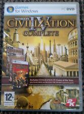Sid Meier's Civilization IV Complete (PCDVD Windows, 2007) -