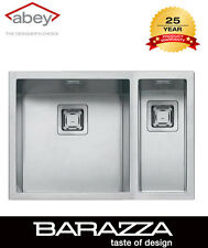 ABEY BARAZZA  AFS170D CUBO ONE & THREE QUARTER BOWL  Undermount Sink
