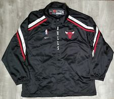 Official Nike NBA Chicago Bulls Vintage On Court Shooting Jacket Sz XL XLarge