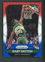 2015-16 Gary Payton Panini Prizm Red White Blue Wave #285