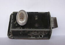 Antique Vintage German Zeiss Ikon Solid Metal Door Lock