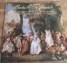 "J.S. Bach - Suite in B Minor; Telemann 12"" LP (Vinyl,Klassik Sammlung)"
