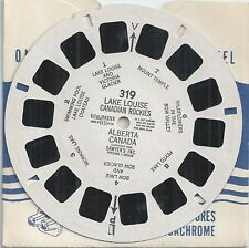 319 Lake Louise Canadian Rockies Alberta Canada 1948 View-master Reel