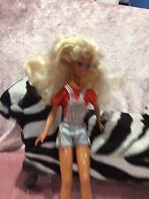 Vintage 1987 Mattel Barbie Teen Skipper Doll Xcellent Redressed Shoes WOW SILVER