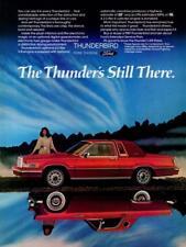 Print. 1981 Ford Thunderbird Auto Ad