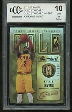 2012-13 panini gold standard insert 64/199 KYRIE IRVING rookie BGS BCCG 10