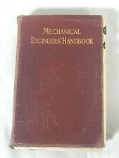 Lionel S. Marks 1916 Mechanical Engineers' Handbook First/ 1920 8th Printing
