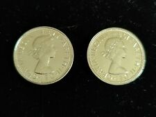 More details for 1970 error 2/ two shilling elizabeth ii proof uncirculated 🇬🇧 51st bday🎁pair