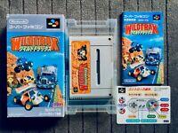 Wildtrax Super Famicom SFC SNES Nintendo Japan Box Manual CIB