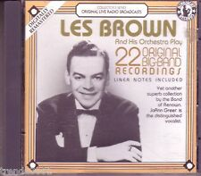 LES BROWN Original Big Band Recordings CD Classic 50s JO AN GREER I NEVER KNEW