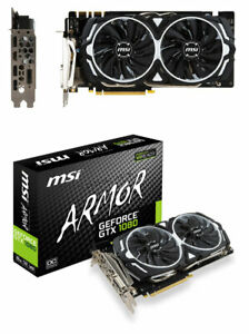MSI  GTX 1080 ARMOR 8G OC NVIDIA GeForce Video Card