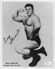 BRUNO SAMMARTINO WWF WWE SIGNED AUTOGRAPH 8X10 PHOTO #4 JSA