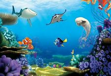 Encontrar Dory por Disney Foto Wallpaper Mural Nemo Peces Azul 368x254cm
