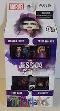Diamond Select Marvel Netflix Jessica Jones 4 Pack Trish Luke Cage Kilgrave Set!