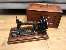 1883 Antique Singer 12k Fiddle base Hand Crank Sewing Machine